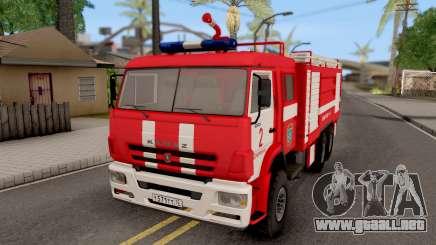 KamAZ-6520 Fuego AC-40 para GTA San Andreas
