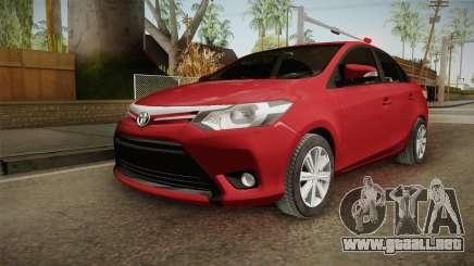 Toyota Yaris 2016 para GTA San Andreas