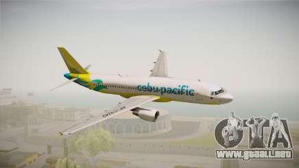 Airbus A320-214 - RP-C3242 (NC) Cebu Pacific para GTA San Andreas
