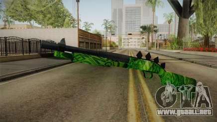 Green Escopeta para GTA San Andreas