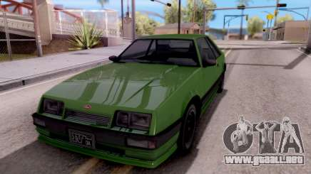 GTA IV Uranus para GTA San Andreas