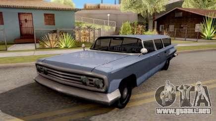 Voodoo Station Wagon para GTA San Andreas
