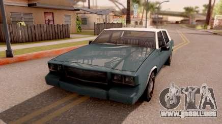 Tahoma Limited Edition para GTA San Andreas