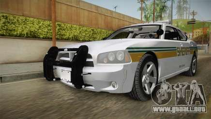 Dodge Charger 2009 Red County Sheriff Office para GTA San Andreas