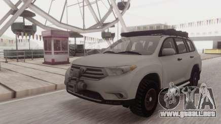 Toyota Highlander para GTA San Andreas