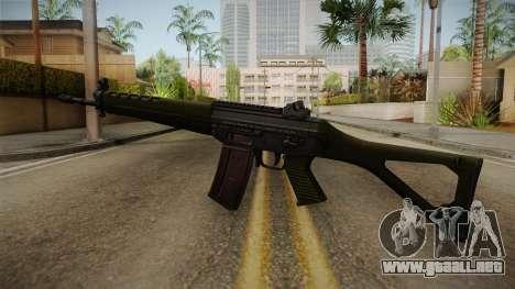 SIG SG-550 Assault Rifle para GTA San Andreas segunda pantalla