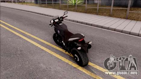 Honda CB500X Turkish Police Motorcycle para GTA San Andreas left