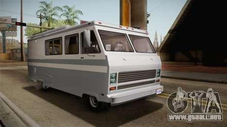 GTA 5 Zirconium Journey Cleaner IVF para GTA San Andreas