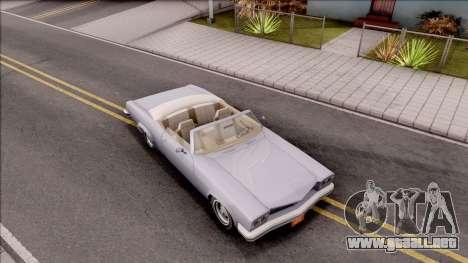 Driver PL Rostalita para la visión correcta GTA San Andreas
