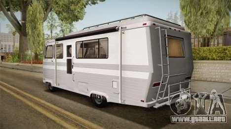 GTA 5 Zirconium Journey Cleaner IVF para GTA San Andreas left