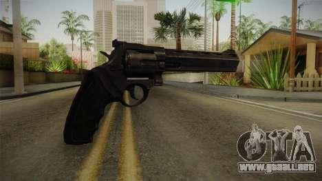 Raging Bull Revolver para GTA San Andreas tercera pantalla