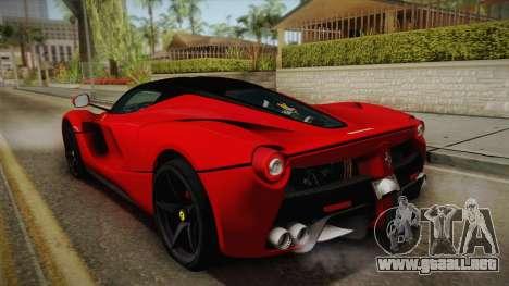 Ferrari LaFerrari para GTA San Andreas left