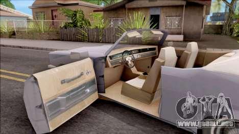 Driver PL Rostalita para visión interna GTA San Andreas