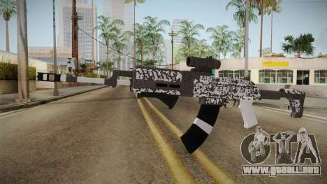 Gunrunning Assault Rifle v2 para GTA San Andreas