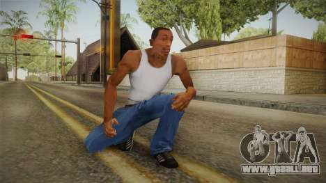 Military Animations 2016 para GTA San Andreas sexta pantalla