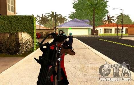 Una nueva visión para los rifles y las bazucas para GTA San Andreas segunda pantalla
