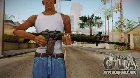 SIG SG-550 Assault Rifle para GTA San Andreas tercera pantalla