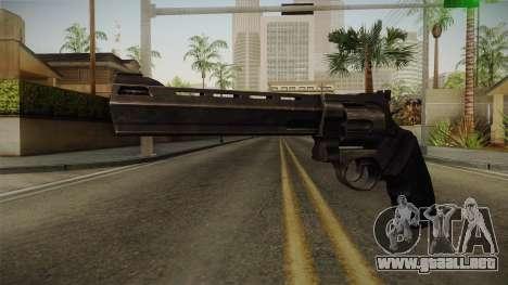Raging Bull Revolver para GTA San Andreas segunda pantalla