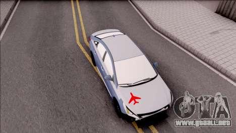 Hyundai Sonata 2016 para la visión correcta GTA San Andreas