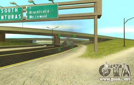 Una nueva visión para los rifles y las bazucas para GTA San Andreas sexta pantalla