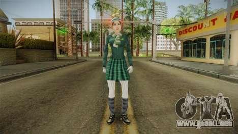 Christy Martin from Bully Scholarship v3 para GTA San Andreas segunda pantalla