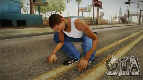 Military Animations 2016 para GTA San Andreas quinta pantalla