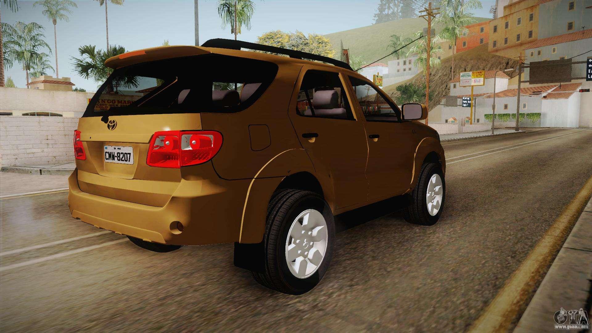640 Mod Mobil Fortuner Gta San Andreas Gratis Terbaru