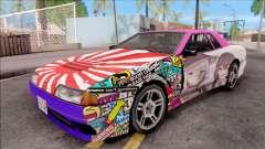 Emilia x Megumin Elegy Itasha Paintjob para GTA San Andreas