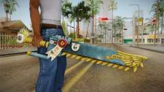 W40K: Deathwatch Chain Sword v3 para GTA San Andreas