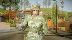 Gunrunning Female Skin para GTA San Andreas