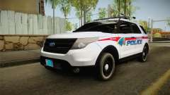 Ford Explorer 2012 YRP para GTA San Andreas