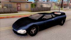 Infernus from GTA 3 para GTA San Andreas