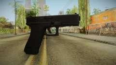 Glock 17 3 Dot Sight Cyan para GTA San Andreas
