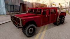 Patriot 6x6 para GTA San Andreas
