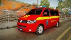 Volkswagen T5 Border Police para GTA San Andreas