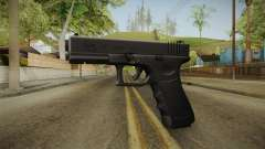 Glock 17 3 Dot Sight Yellow para GTA San Andreas