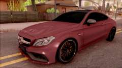 Mercedes-Benz C63S AMG Coupe 2016 para GTA San Andreas