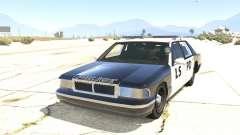 Coche de policía de GTA San Andreas para GTA 5