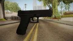 Glock 18 3 Dot Sight Orange para GTA San Andreas