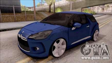 Citroen DS3 2011 para GTA San Andreas