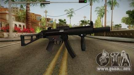 HK MP5 Silenced para GTA San Andreas