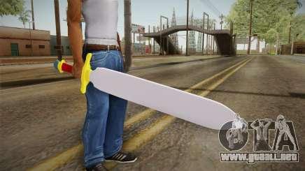 Z Sword From DBZ para GTA San Andreas
