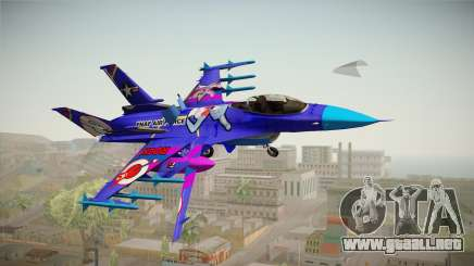 FNAF Air Force Hydra Bonnie para GTA San Andreas