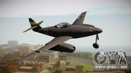 Messerschmitt Me-262 Schwalbe para GTA San Andreas