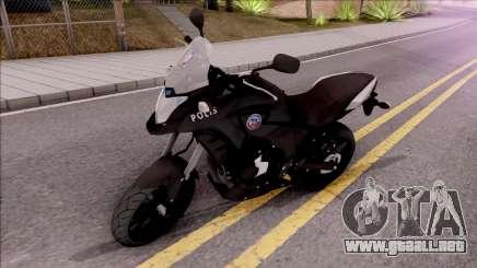 Honda CB500X Turkish Police Motorcycle para GTA San Andreas