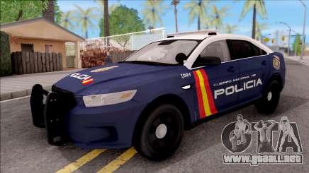 Ford Taurus Spanish Police para GTA San Andreas