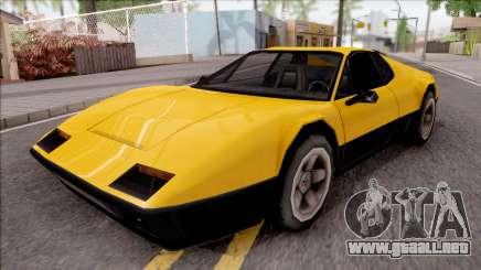 Cheetah 1976 para GTA San Andreas