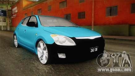 Hyundai i30 Double Color para GTA San Andreas