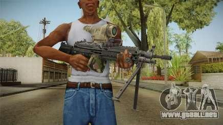 M249 Light Machine Gun v2 para GTA San Andreas