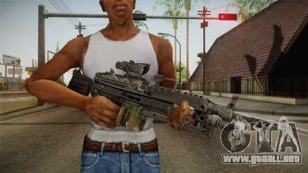 M249 Light Machine Gun v4 para GTA San Andreas
